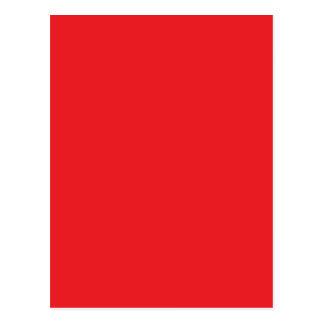 赤い ポストカード