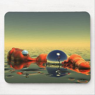 赤い マウスパッド
