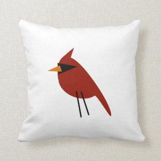 赤い(鳥)ショウジョウコウカンチョウ クッション