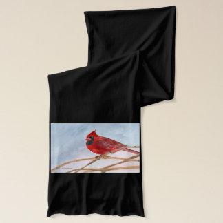 赤い(鳥)ショウジョウコウカンチョウ スカーフ