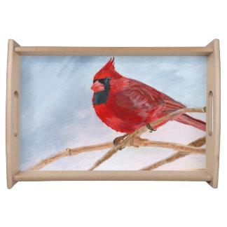赤い(鳥)ショウジョウコウカンチョウ トレー