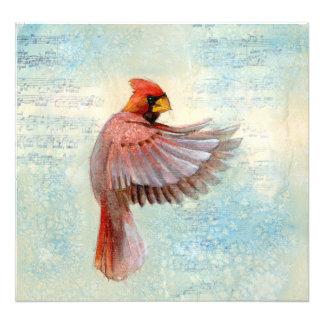 赤い(鳥)ショウジョウコウカンチョウ フォトプリント