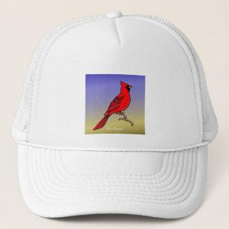 赤い(鳥)ショウジョウコウカンチョウrev.2.0のワイシャツおよび服装 キャップ