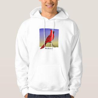 赤い(鳥)ショウジョウコウカンチョウrev.2.0のワイシャツおよび服装 パーカ