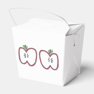 赤いAppleは箱を取ります フェイバーボックス