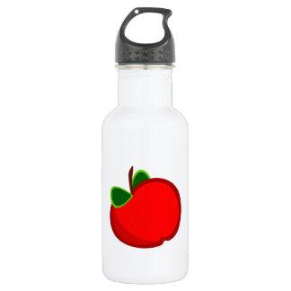 赤いApple ウォーターボトル