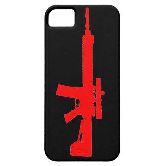 赤いAR-15 iPhone 5の自在継手の箱 iPhone SE/5/5s ケース
