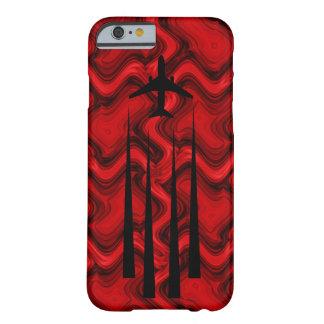 赤いChemtrails Barely There iPhone 6 ケース