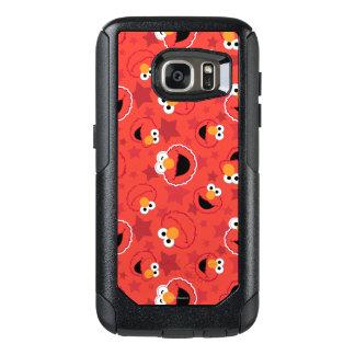 赤いElmoはパターンに直面します オッターボックスSamsung Galaxy S7ケース