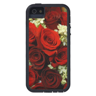 赤いiPhone 5/5Sの箱の開花 iPhone SE/5/5s ケース