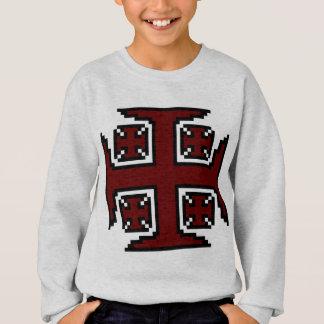 赤いKross™の男の子のスエットシャツ スウェットシャツ