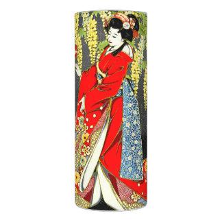 赤いLED着物の女性蝋燭 LEDキャンドル