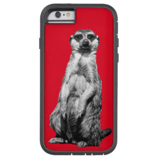 赤いMeerkat Tough Xtreme iPhone 6 ケース