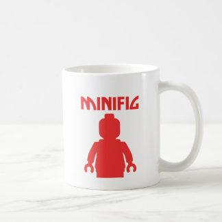 赤いMINIFIGは私のMinifigをカスタマイズ コーヒーマグカップ