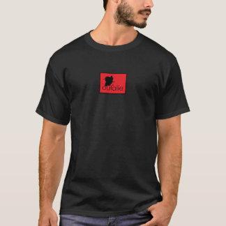 赤いOula t Tシャツ