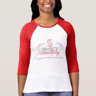 赤いRaglanのワイシャツ Tシャツ