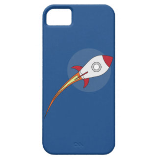 赤いRocketship iPhone SE/5/5s ケース