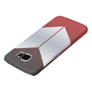 赤いSamsungの銀河系S6の箱 Samsung Galaxy S6 ケース