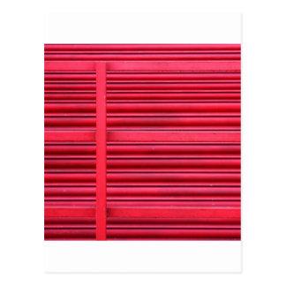 赤いShutter.jpg ポストカード