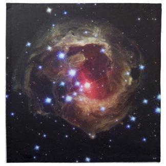 赤いSupergiant星のナプキン ナプキンクロス
