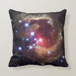 赤いSupergiant星V838 Monocerからの光エコー クッション
