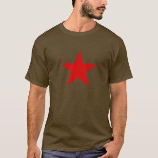 赤いTシャツ、redstar星 Tシャツ