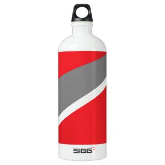 赤および灰色 ウォーターボトル