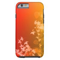 赤および黄色の葉のiPhone 6/6sの場合