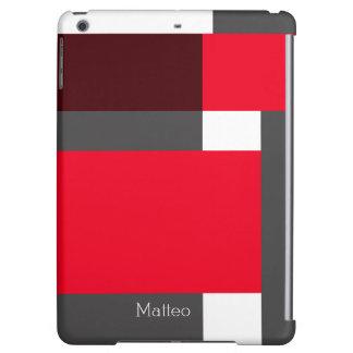 赤および黒色のブロック