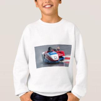 赤くおよび青の側車 スウェットシャツ