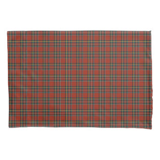 赤くおよび青の王室のなステュワートのスコットランド人の格子縞 枕カバー