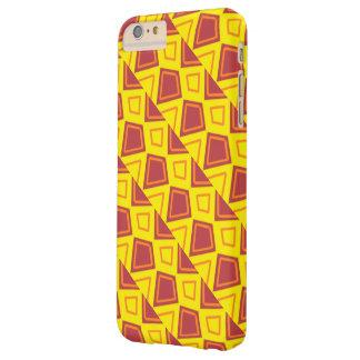 赤くおよび黄色の箱 BARELY THERE iPhone 6 PLUS ケース
