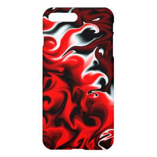 赤くおよび黒い情熱 iPhone 7 PLUSケース