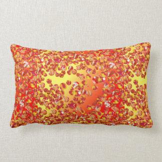 赤くか黄色大理石パッチのすべての腰神経の枕 ランバークッション
