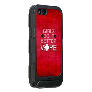 赤くグランジでガーリーなVape Incipio ATLAS ID™ iPhone 5 ケース