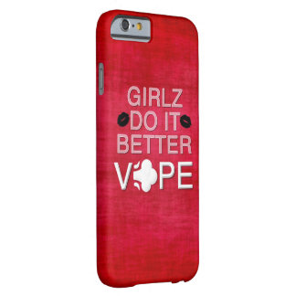 赤くグランジでガーリーなVape iPhone 6 ベアリーゼアケース