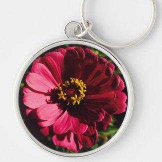 赤く不明瞭な花 キーホルダー