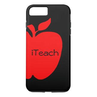 赤く及び黒い先生のiPhone 7のプラスの場合 iPhone 8 Plus/7 Plusケース