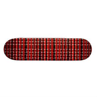 赤く及び黒い網のヒップスターsk8デザイナースケートボード スケートボード