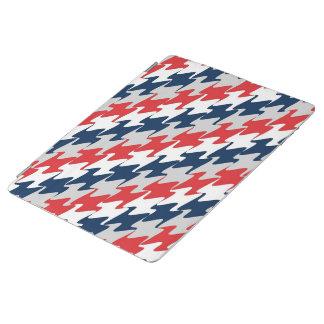 赤く白い濃紺のニューイングランドのフットボール色 iPadスマートカバー