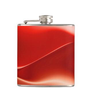 赤く白い炎の抽象芸術 フラスク