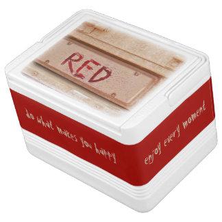 赤く素朴なユート族のテールゲートの尾ライト 缶クーラー