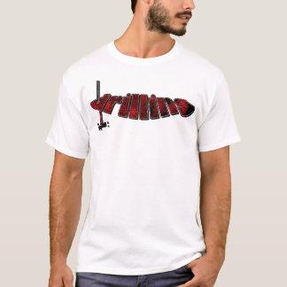 赤く鋭いプロセス Tシャツ