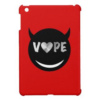 赤く黒いVapeのハートの反逆者 iPad Miniケース