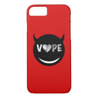 赤く黒いVapeのハートの反逆者 iPhone 8/7ケース