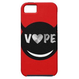 赤く黒いVapeのハートの反逆者 iPhone SE/5/5s ケース