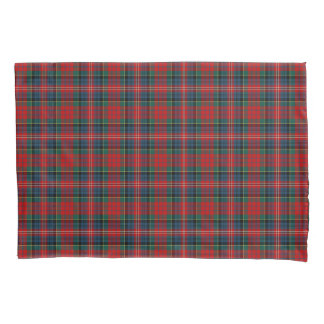 赤く、ロイヤルブルーのMacPhersonの一族のスコットランド人の格子縞 枕カバー