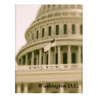 赤く、白及び青および国会議事堂 ポストカード