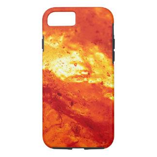 赤く、白熱の溶岩 iPhone 8/7ケース
