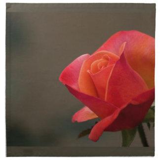 赤く、赤い花 ナプキンクロス
